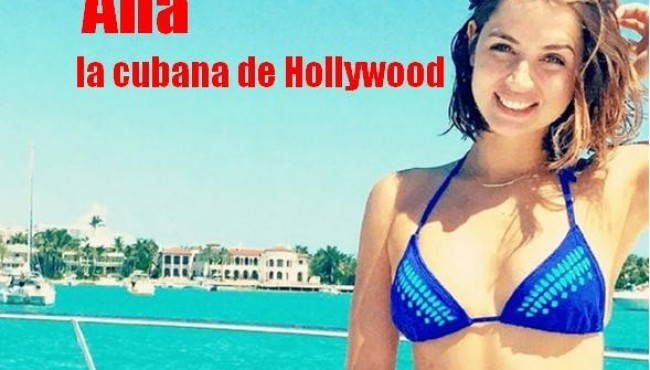 La cubana que arrasa en Hollywood